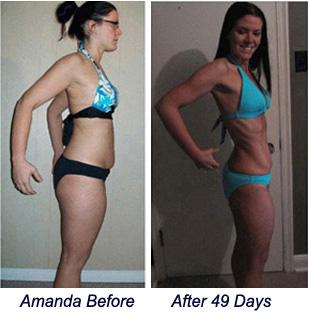 Amanda Burn the Fat Success Story!