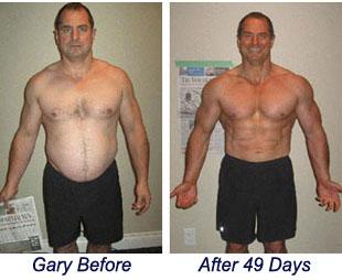 Gary burn the fat success story!