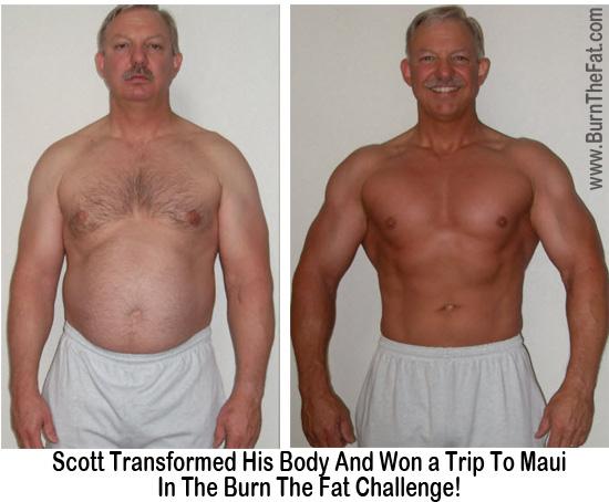 Burn the Fat challenge body transformation contest