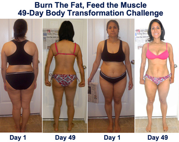 Burn The Fat Challenge For Moms