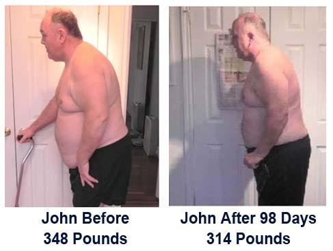 John Deegan Before/After