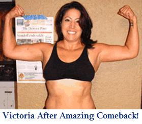 Victoria Celebrating