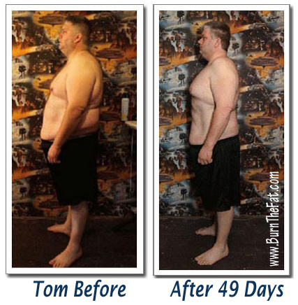 burn the fat feed the muscle by tom venuto - body transformation success story