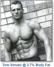 Fat Loss expert Tom Venuto at 3.4% body fat