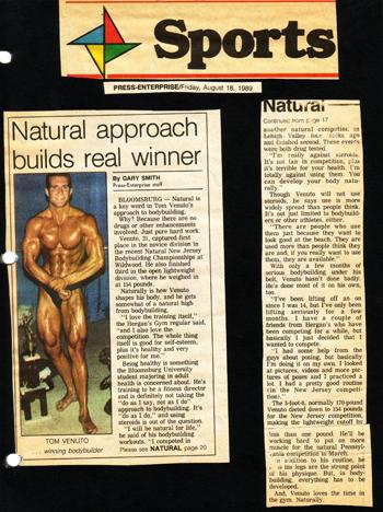 natural bodybuilder