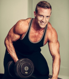 strength training muscle guy